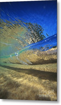 Underwater Wave Metal Print by Vince Cavataio - Printscapes