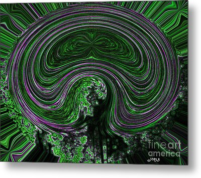Unnamed Abstract Metal Print