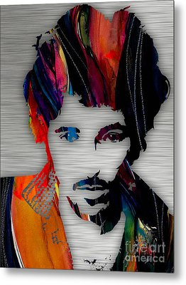 Bruce Springsteen Collection Metal Print