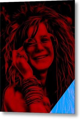 Janis Joplin Collection Metal Print