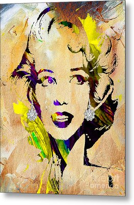 Marilyn Monroe Collection Metal Print by Marvin Blaine