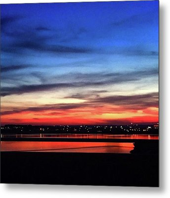 31 May 16 Colourful Sunset Metal Print