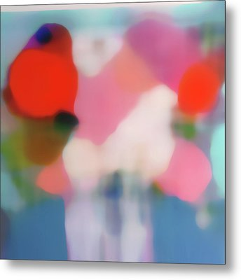 Translucent Abstractions Series Metal Print by Ricki Mountain