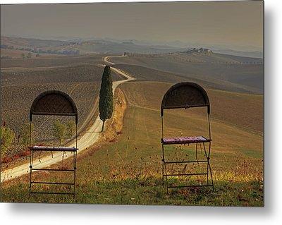 Tuscany Metal Print by Joana Kruse