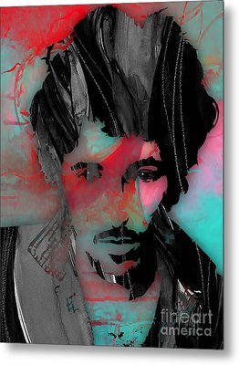 Bruce Springsteen Collection Metal Print by Marvin Blaine