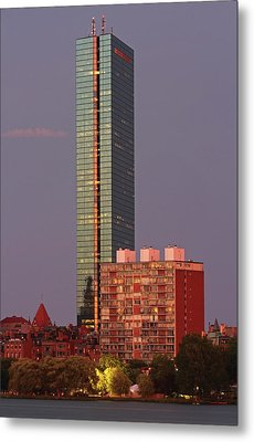 Metal Print featuring the photograph 330 Beacon Street Corporation by Juergen Roth
