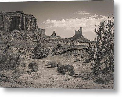 #3326 - Monument Valley, Arizona Metal Print