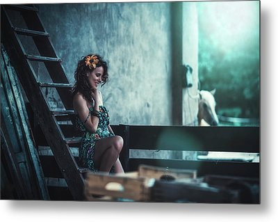 Metal Print featuring the photograph ... by Traven Milovich