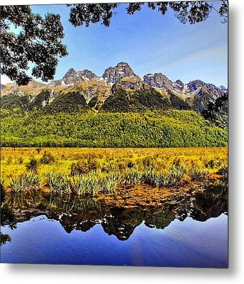 Instagram Photo Metal Print by Tommy Tjahjono