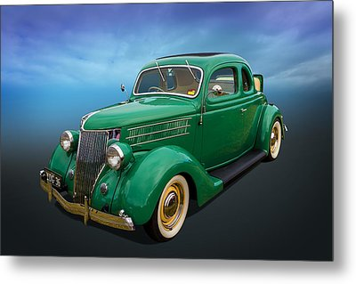 36 Ford Metal Print by Keith Hawley