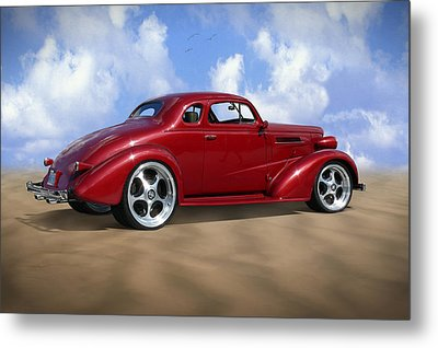 37 Chevy Coupe Metal Print by Mike McGlothlen