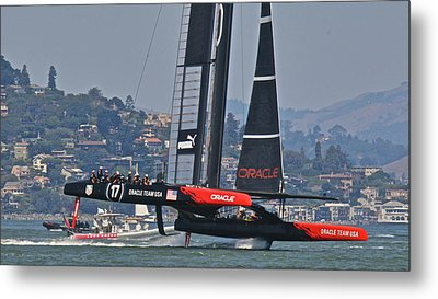 America's Cup Oracle Metal Print