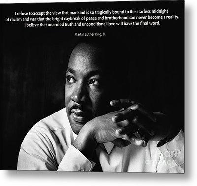 39- Martin Luther King Jr. Metal Print by Joseph Keane
