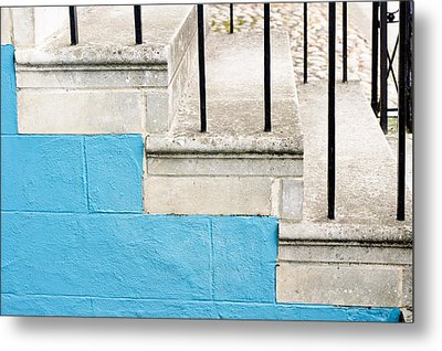 Stone Steps Metal Print by Tom Gowanlock