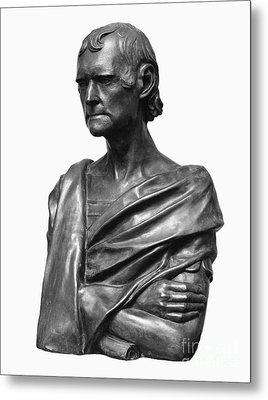 Thomas Jefferson (1743-1826) Metal Print