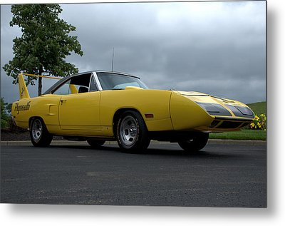 1970 Plymouth Roadrunner Superbird Metal Print by Tim McCullough