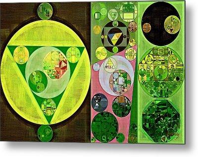 Abstract Painting - Myrtle Metal Print by Vitaliy Gladkiy
