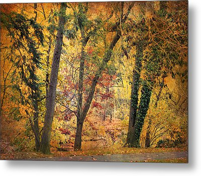 Autumn Canvas Metal Print by Jessica Jenney