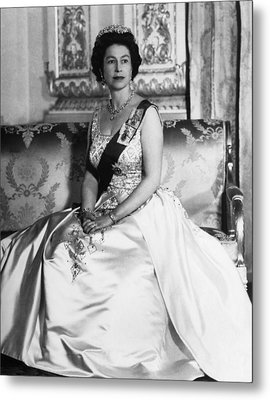 British Royalty. Queen Elizabeth II Metal Print