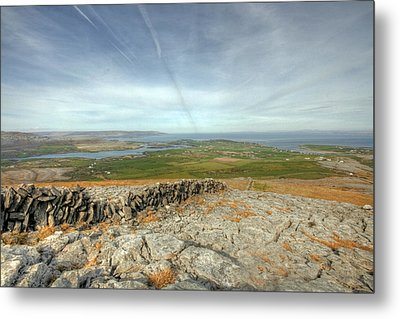 Burren View  Metal Print by John Quinn