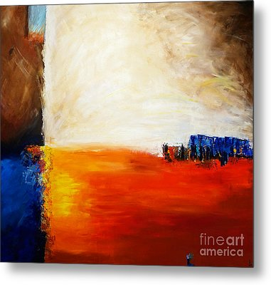 4 Corners Landscape Metal Print by Gallery Messina
