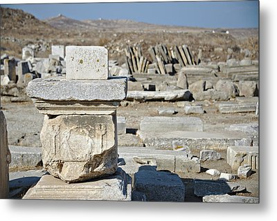 Delos Greece Metal Print