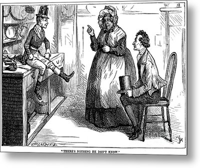 Dickens: Martin Chuzzlewit Metal Print by Granger