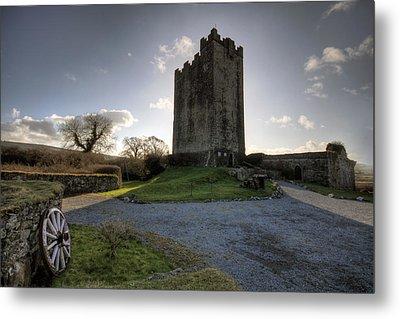 Dysert O Dea Castle Metal Print by John Quinn