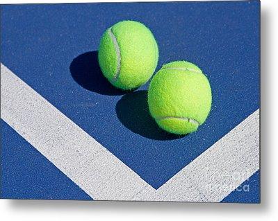 Florida Gold Coast Resort Tennis Club Metal Print by ELITE IMAGE photography By Chad McDermott