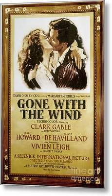 Gone With The Wind, 1939 Metal Print by Granger