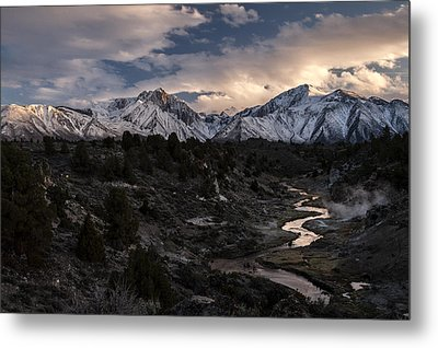 Hot Creek Metal Print