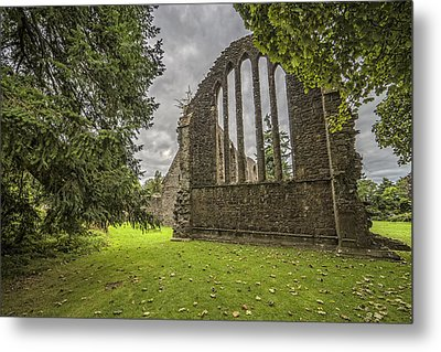 Inchmahome Priory Metal Print by Jeremy Lavender Photography