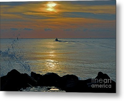 Metal Print featuring the photograph 4- Into The Day by Joseph Keane