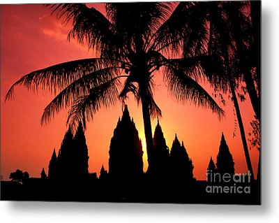 Java, Prambanan Metal Print by Gloria & Richard Maschmeyer - Printscapes