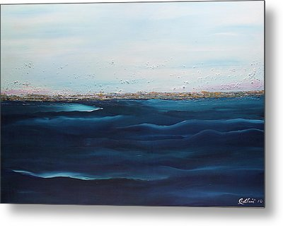 Jewels Of The Sea Metal Print by Dolores  Deal