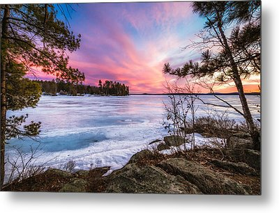 Metal Print featuring the photograph Lake Winnipesaukee by Robert Clifford