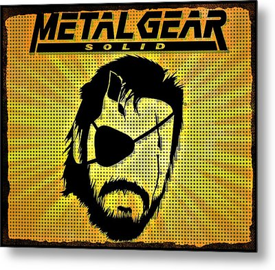 Metal Gear Solid Metal Print