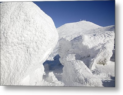 Mount Washington - New Hampshire Usa Metal Print by Erin Paul Donovan
