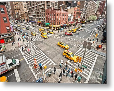 New York City Metal Print by Luciano Mortula