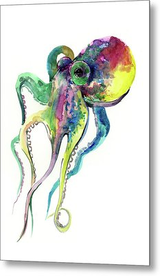 Octopus Metal Print by Suren Nersisyan