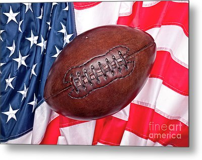 Metal Print featuring the photograph Old Glory Flag by Gualtiero Boffi