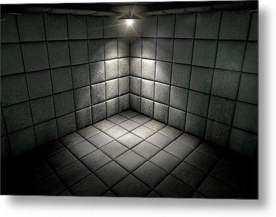 Padded Cell Dirty Spotlight Metal Print by Allan Swart