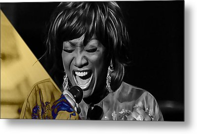 Patti Labelle Collection Metal Print by Marvin Blaine