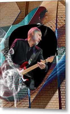 Pete Townshend Art Metal Print by Marvin Blaine