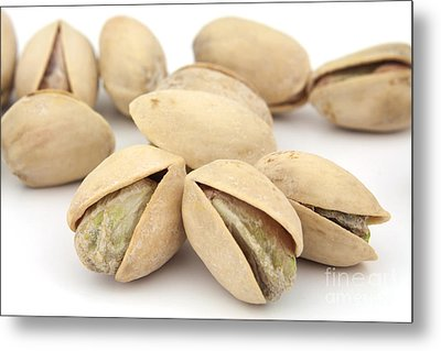 Pistachios Metal Print by Blink Images