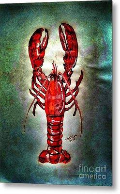 Red Lobster Metal Print by Scott D Van Osdol