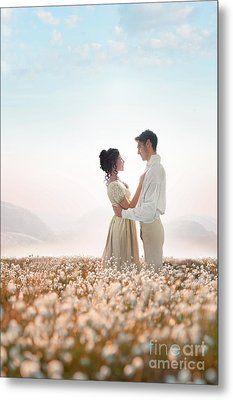 Metal Print featuring the photograph Regency Couple by Lee Avison