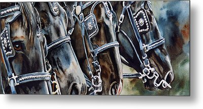 4 Shires Metal Print by Nadi Spencer
