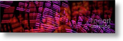 Singapore Night Urban City Light - Series - Your Singapore Metal Print