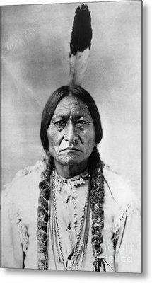 Sitting Bull (1834-1890) Metal Print